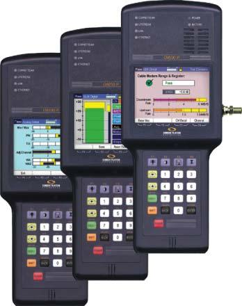 The CM series meter simultaneously displays the current LP 100 leakage measurement, the user-programmed limit and the peak-hold measurement in both graphic and numeric formats.