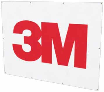 Banners 3M Logo Banner 48 W 36 H Fire