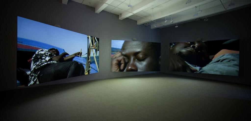 04/05 Isaac Julien, Western Union: Small Boats, 2007.