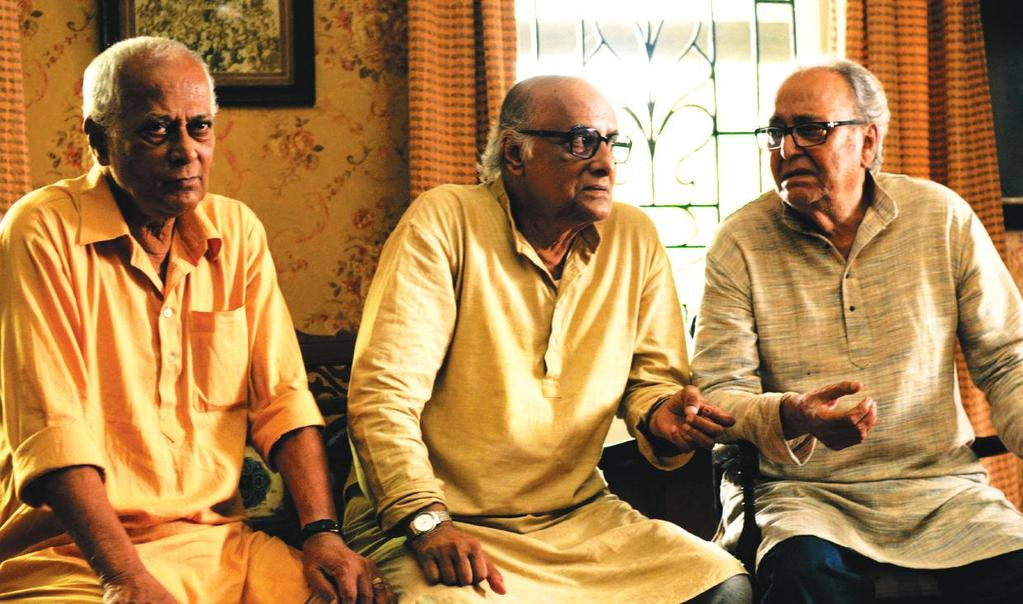 THE INDIA STORY PEACE HAVEN Director: Suman Ghosh India / 2015 / DCP / Col. / Bengali / 78 mins Peace Haven is the story of three septuagenarian friends who decide to build their very own mortuary.