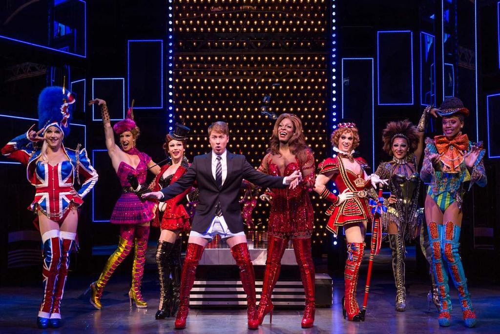 CYNDI LAUPER DELIVERS THE BEST BROADWAY SCORE IN YEARS! ABC News Kinky Boots Tour.