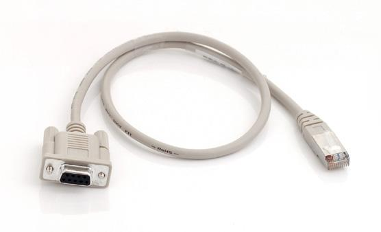 RJ45-DB9: RS232 Adapter