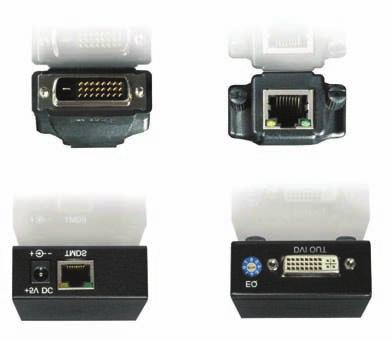 With the PRO-DVI-CAT-PLG, users can transmit high quality digital video of PC applications through one cost effective CAT-5/5e to the remote monitor or projector, instead of using short and expensive