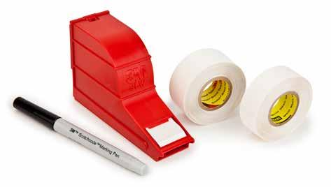 3M ScotchCode Write-On Dispensers These three self-laminating writeon marker dispensers are handy for identifying wire and cable as well as household, automotive, plumbing and sporting equipment.