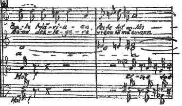 Studies Fig. 7a Karol Szymanowsky, Cine bate, mm. 17-18 Fig. 7b Marcel Mihalovici, Sonata for solo violin, theme, mm.