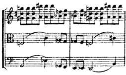 additional instrumental counter-subject, in the upper plan of the second appearance.