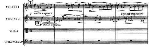 1-10 A particular type of exposition is the one found in the fugato from the String Quartet op. 7 by Bartók.
