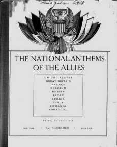 anthems by the prestigious American publisher G.