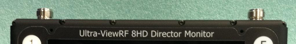 Ultra-ViewRF 8HD Director Monitor Mode of Operation Bank Select Mode Users can enter