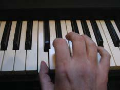 2 The white keys on the piano correspond to the plain letter names we use to name notes. So you can count up or down from C and find all of the other tones.