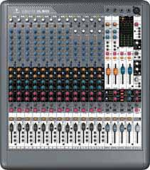 16/24/32-Channel XENYX Premium 16/24/32-Input 4-Bus with XENYX Mic Preamps and British EQs Ultra-low noise, high-headroom analog mixer for live, front-of-house, monitor, corporate and touring audio