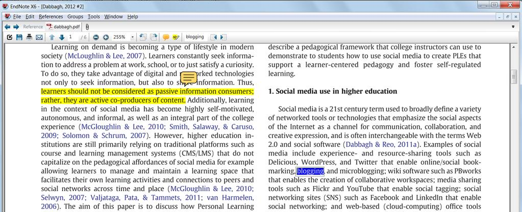 Highlight Text. Clicking Close PDF will close the PDF back down into the Attached PDFs panel. 7.
