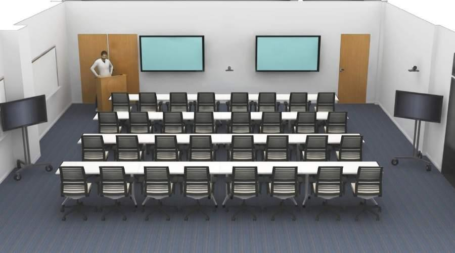MULTIPURPOSE ROOM Concept Footprint: 30 x 30 900 sq. ft.