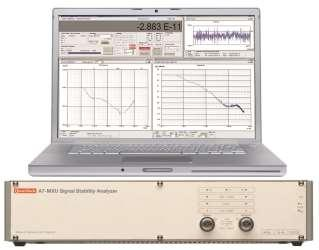 Signal Stability Analyser o Real Time Phase or Frequency Display o Real Time Data, Allan Variance and Phase Noise Plots o 1MHz to 65MHz medium resolution (12.