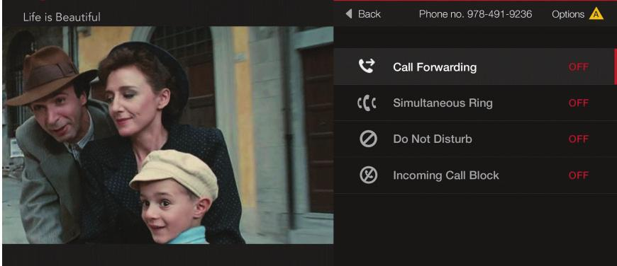 Enable Caller ID on your TV View the Call Log (Call Back using your FiOS Digital Voice line, Block, Delete).