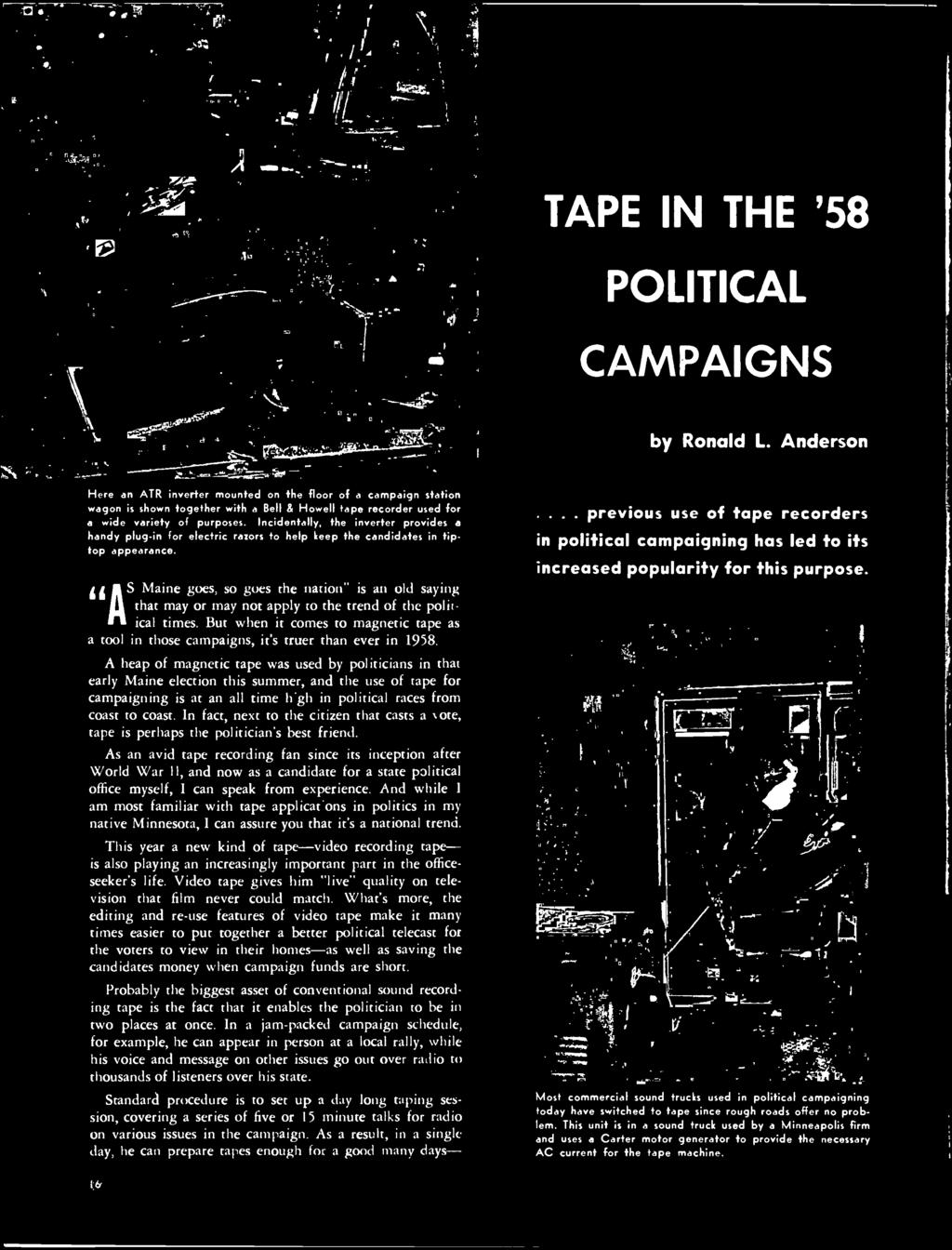 Mr Fzoy Perrin 231 Wildland Ave 9 Ct Rutherford Nj Dcmbr Clavioline Concert Model Tone Generator Schematic Wiring Diagram But When It Comes To Magnetic Tape As A Tool In Those Campaigns Its Truer