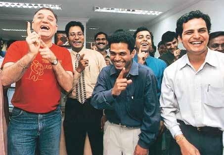 Seven Compelling Reasons to bring Laughter Yoga to Your Organisation Team Building: People who laugh together work together.
