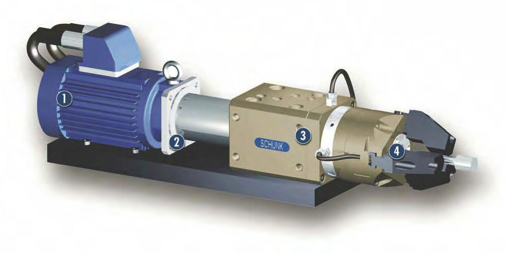 DDF-SE Feed-through Stationary Rotary Feed-through Sizes 080.. 120 Max.