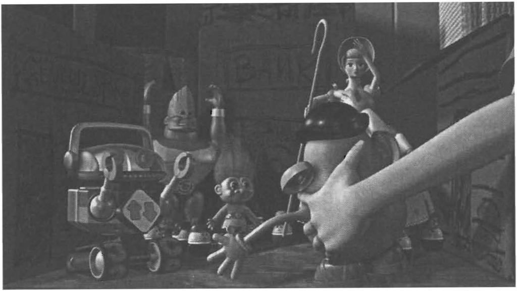 Conclusion 171 Figure C. J Toy STORY: whose age ncy? Mastery and manipulation between humans and non-humans. cinema.