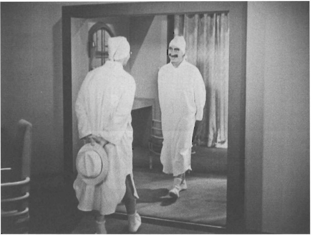 78 Cinema as mirror and fa ce Figure 3.8 DUCK SOUP: the mirror as ontological groundlessness.