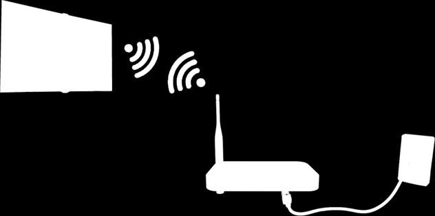 Make sure you have the wireless router's SSID (name) and password settings before attempting to connect. The password can be found on the wireless router's configuration screen. 1.