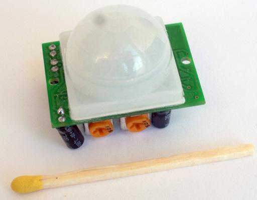 Motion sensors for 12V voltage You can also use miniature motion sensors operating at a low voltage such as 12V. We offer a sensor with the symbol CRN-5481.