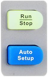 Run Control : press this key to enable the waveform auto setting function.