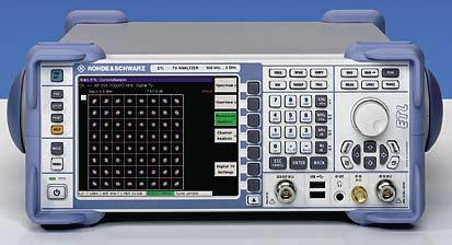 Measurements using the R&S ETL TV analyzer A wide field: measurements on digital terrestrial broadcast transmitters Error-free functioning of broadcast transmitters must be ensured during their