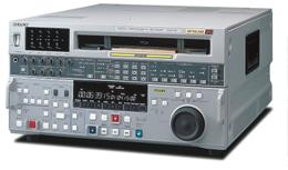 Betacam SX Recorders DNW-A75 Digital Video Cassette Recorder with analog DT playback The DNW-A75 includes a wide range of features, including frame-accurate video/audio insert editing, Preread