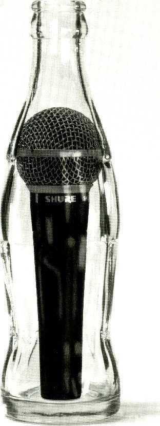 SHURE' SM58 It's the real thing.