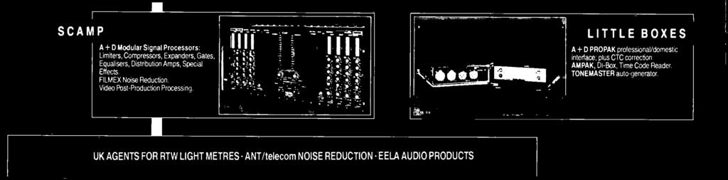 FILMEX Noise Reduction. Video Post -Production Processing. 'III. I.