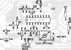 External tuning Tri, 2 + supply Video signal Sound signal Ground PL2 looking in (connection to VCR) 109131 Fig. 6: Pin details.