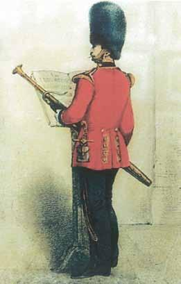 Bassoonist in Guard Mount Mode (1857)