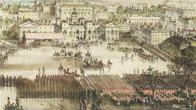 State Funeral of the Duke of Wellington 1852.