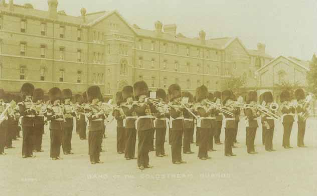 The Coldstream Guards Band: Chelsea Barracks c. 1911.