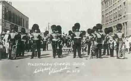 Tour of Canada 1926: Band