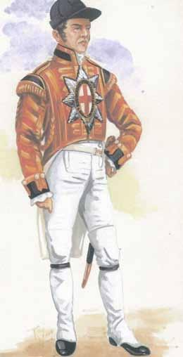 Coldstream Guards Band State Dress 1815