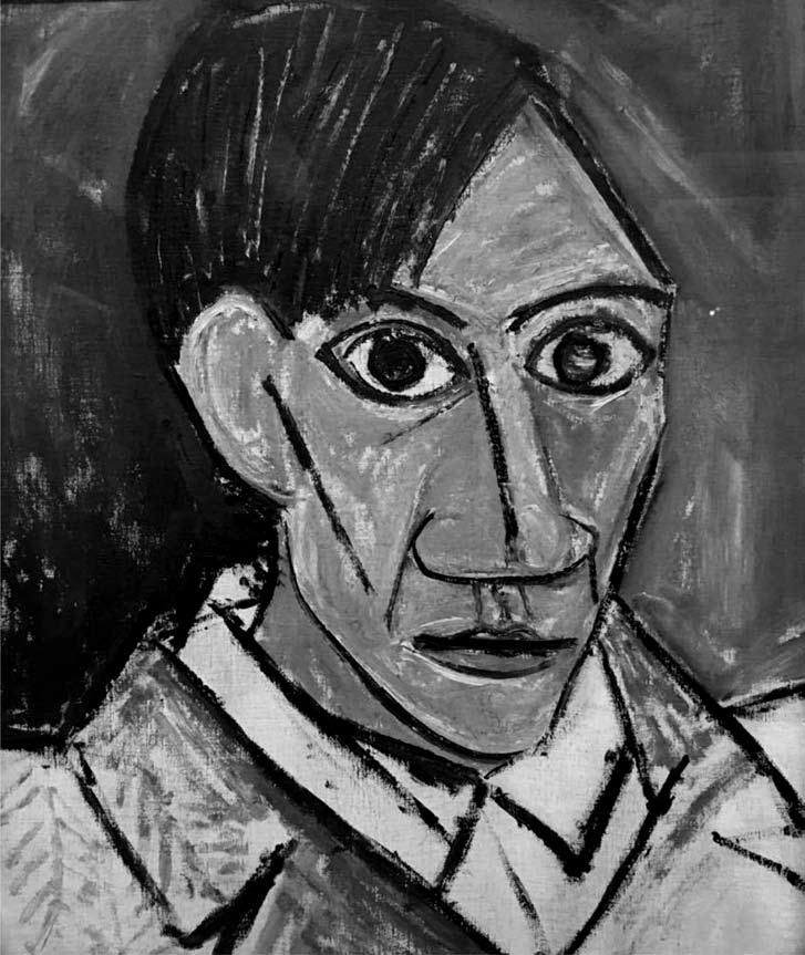 162 Aneta Pawłowska Fig. 5. Pablo Picasso, Self-Portrait from Negro period, 1907, Veletrzni Palac Prague, fot. E.