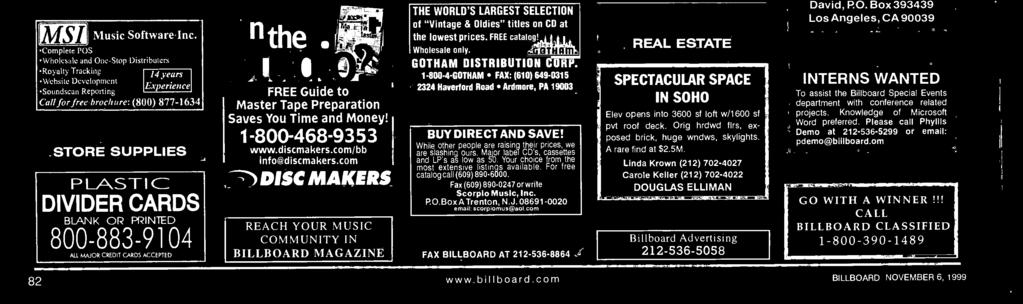 - 800-4- GOTHAM FAX: (60) 649-0 224 Haverford Road Ardmore, PA 900 BUY DIRECT AND SAVE! While other people are raising their prices, we are slashing ours.