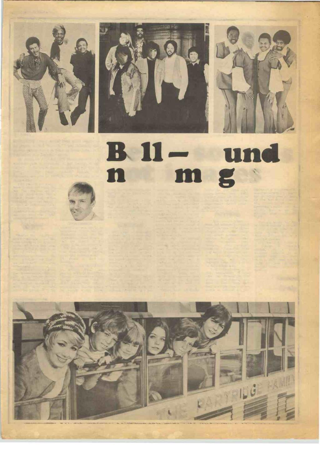 RECORD MIRROR, May 15, 1971 21 DEL FON ICS BARONESS Orczy would have good reason to be proud of Bell Records' Chris Denning; this elusive gentleman is as hard to track down as a free ticket to a