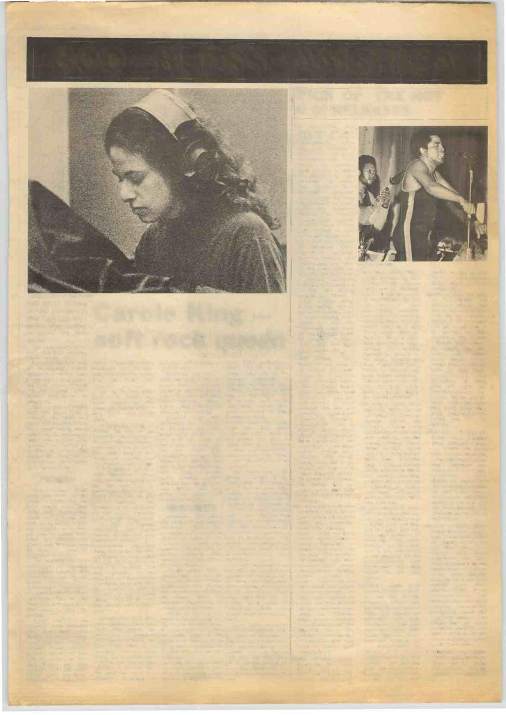 RECORD MIRROR, May 15, 1971 9 GOD BLESS AMERICA I CAROLE: IN BRITAIN SOON? THE BRILL Building at 1650 Broadway in New York City was a strange place to work in during the early sixties.