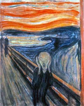 EXPRESSIONISM Edward Munch The Scream Early 19 th century movement based on the belief that inner reality, or a person s thoughts and feelings, are more important than the
