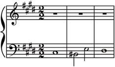 appassionato 299 Figure 10.11 The opening of the Fugue in CG minor from Bach s Well-Tempered Clavier, Book I. found in Chinese music, where the pien tones that supplemented the pentatonic scale (p.