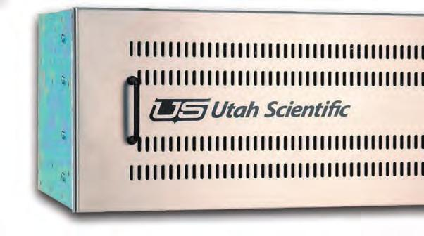 Utah-400/64 The UTAH-400/64 brings all of the features of the UTAH-400 High Density Digital Routing