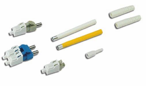 F I B E R S O L U T I O N S Fiber Optic EZ-LC Connectors Small Form-Factor Connectors with Excellent Optical and Mechanical Performance LC Field Mountable Connector Specifications Specification