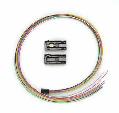 KIT-CBL-CLP-ARM KIT-090-BO Description 6 fiber buffer fan out for stranded loose tube cables kit - 24 breakout 12 fiber buffer fan out for stranded loose tube cables