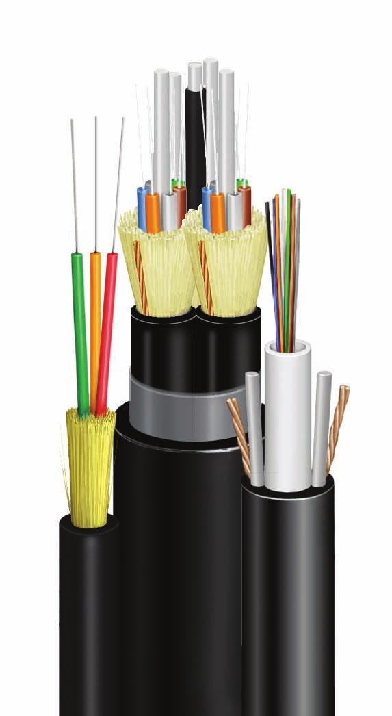 F I B E R S O L U T I O N S Indoor/Outdoor Cables (OFNR & OFNP) Designs are Rugged for Outdoor and Safe for Indoor Glossary/Index Packaging Conduit Multi-Conductor Coax Cables Copper Uniprise