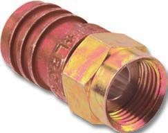 C O A X Connectors Connectors are manufactured to fit each series and size of coaxial cable. CommScope does not stock or sell connectors.