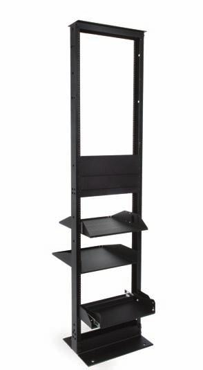 in Channel x 7 ft H - 19 in Steel Equipment Rack (45U), 3/8 Sq Punch, Black 760090126 RK3-52S 3 in Channel x 8 ft H - 19 in Steel Equipment Rack (52U), 3/8 Sq Punch, Black 760090134 RK6-45S 6 in