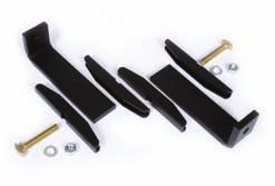Fits All Sizes, Black 760083949 CRDK-6W Cable Radius Drop Kit For 6 in W